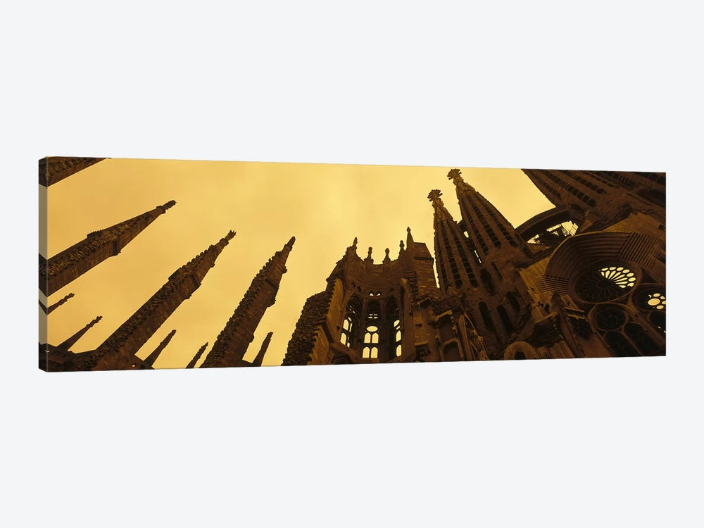 La Sagrada Familia Barcelona Spain by Panoramic Images 1-piece Canvas Wall Art