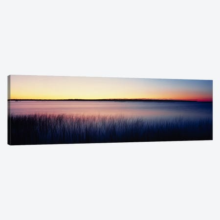 Sunrise Lake Michigan WI USA Canvas Print #PIM2349} by Panoramic Images Canvas Artwork