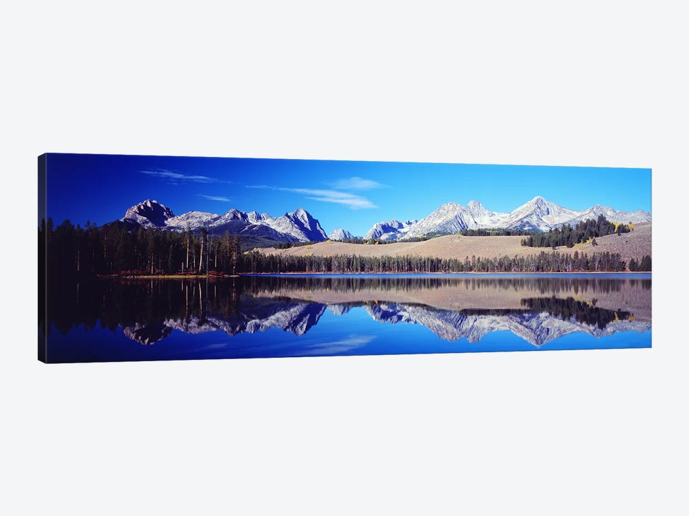 Little Redfish Lake Mountains ID USA 1-piece Canvas Print