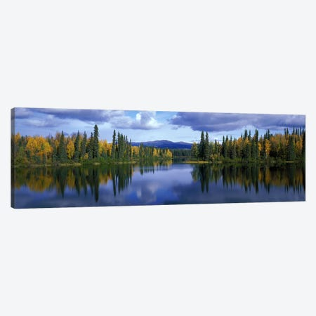 Dragon Lake Yukon Canada Canvas Print #PIM2351} by Panoramic Images Canvas Art Print