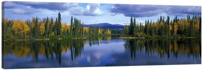 Dragon Lake Yukon Canada Canvas Print #PIM2351