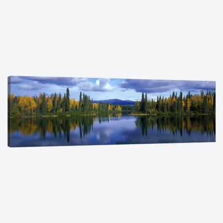 Dragon Lake Yukon Canada Canvas Print #PIM2351} by Panoramic Images Canvas Art Print
