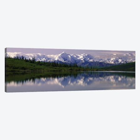 Wonder Lake Denali National Park AK USA Canvas Print #PIM2352} by Panoramic Images Art Print