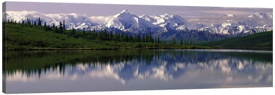 Wonder Lake Denali National Park AK USA Canvas Art Print