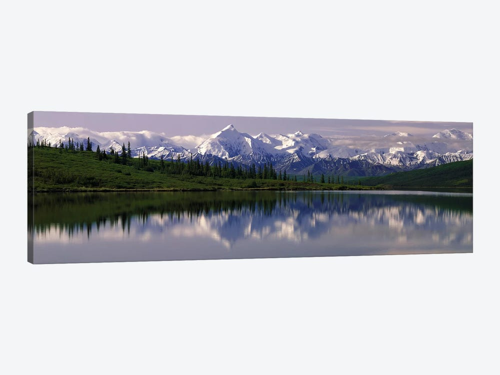 Wonder Lake Denali National Park AK USA by Panoramic Images 1-piece Canvas Print