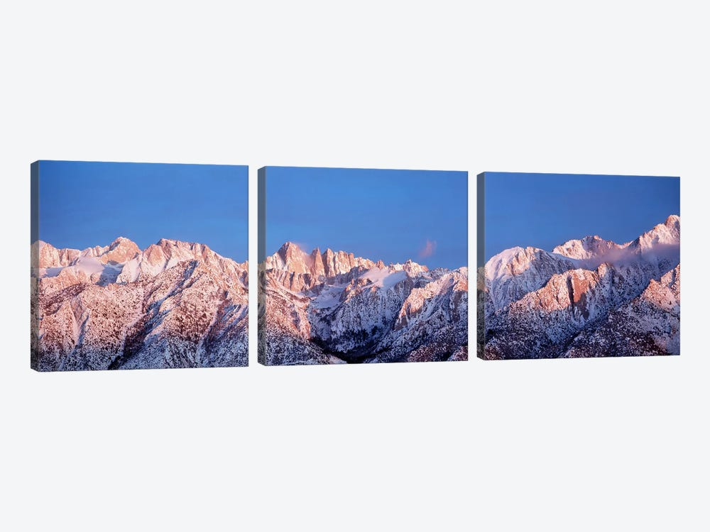 Snow Mt Whitney CA USA by Panoramic Images 3-piece Art Print