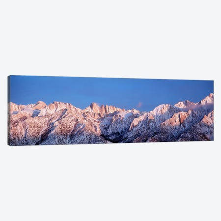 Snow Mt Whitney CA USA Canvas Print #PIM2354} by Panoramic Images Canvas Art