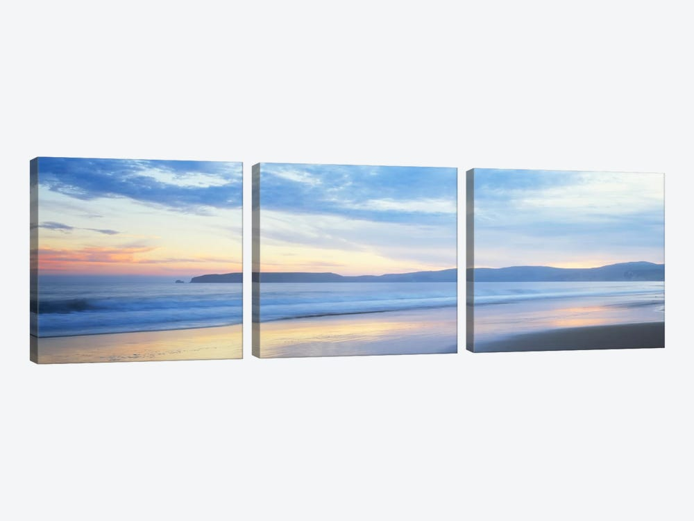 Seascape, Marin County, California, USA by Panoramic Images 3-piece Canvas Artwork