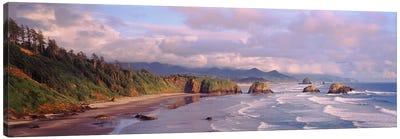 Seascape Cannon Beach OR USA Canvas Print #PIM2360