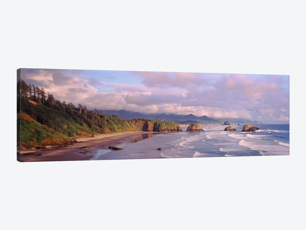 Seascape Cannon Beach OR USA by Panoramic Images 1-piece Canvas Artwork
