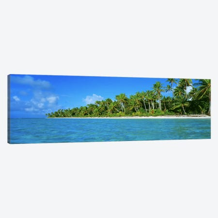 Tetiaroa Atoll French Polynesia Tahiti Canvas Print #PIM2364} by Panoramic Images Canvas Print
