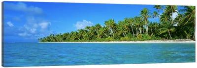 Tetiaroa Atoll French Polynesia Tahiti Canvas Print #PIM2364