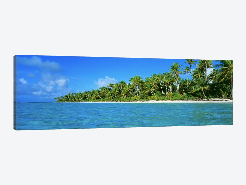 Tetiaroa Atoll French Polynesia Tahiti by Panoramic Images 1-piece Canvas Artwork