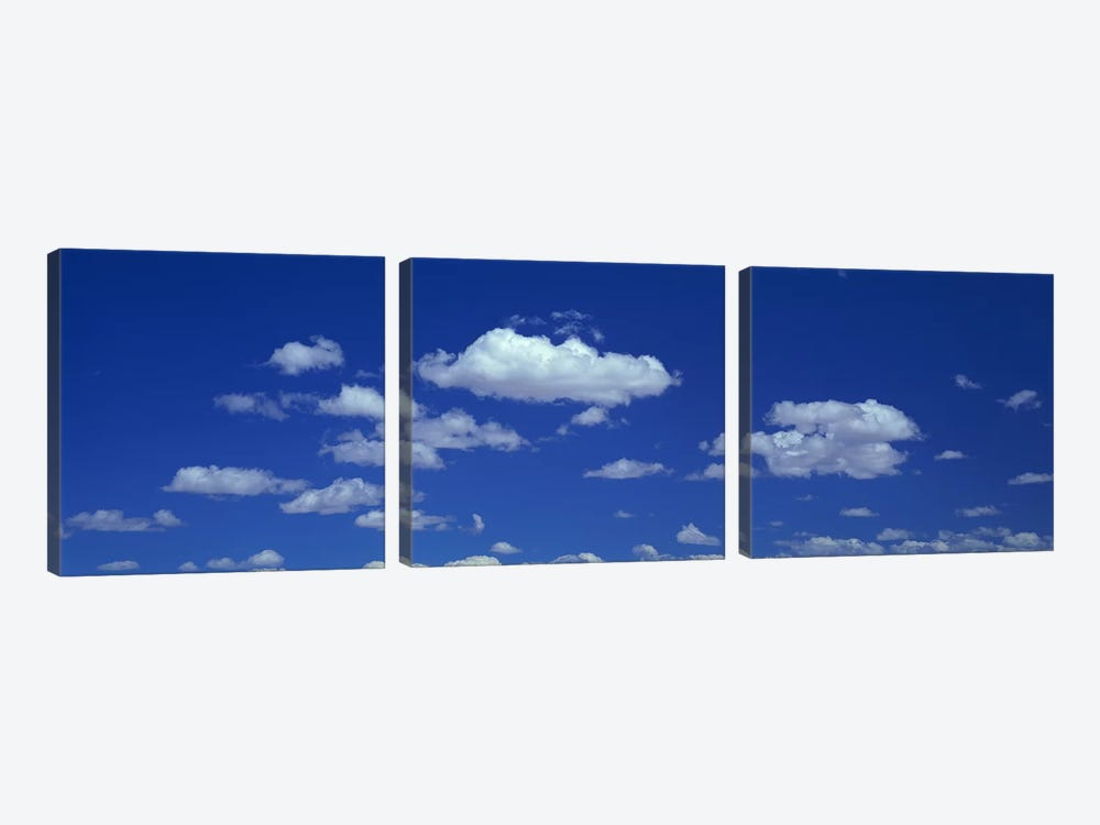 Clouds 3-piece Canvas Art Print