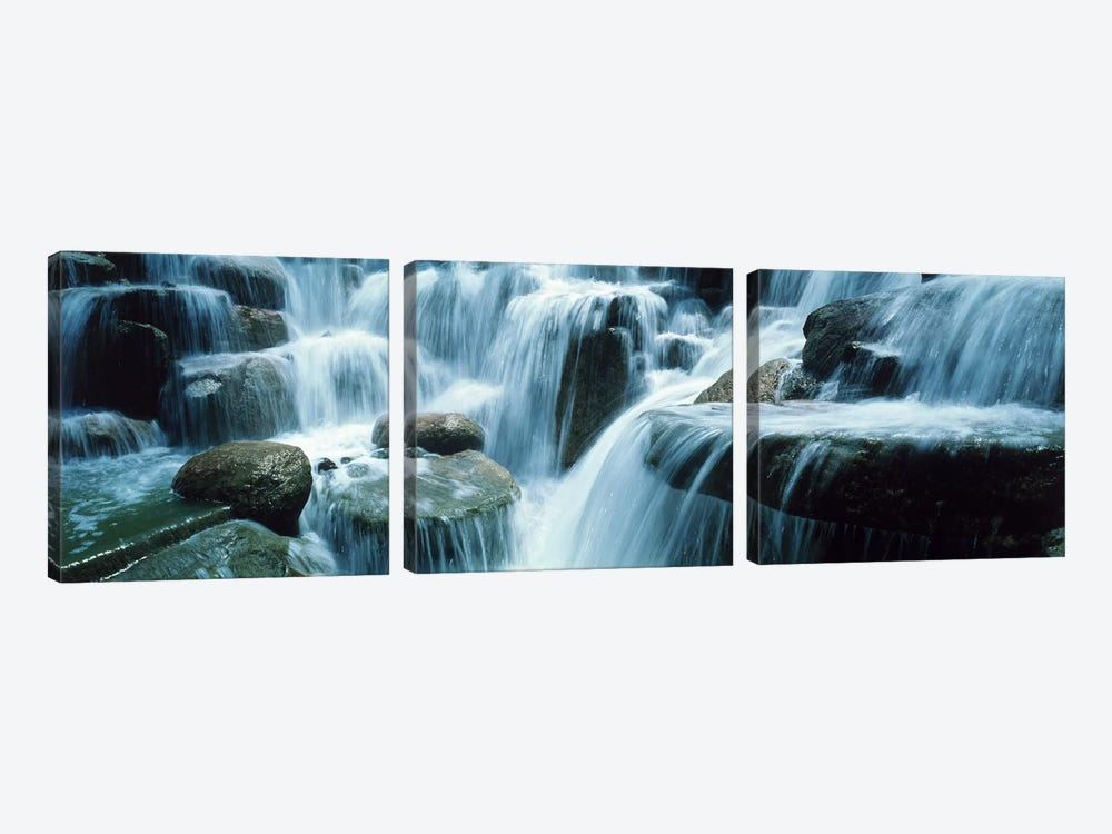 Waterfall Temecula CA USA by Panoramic Images 3-piece Canvas Print