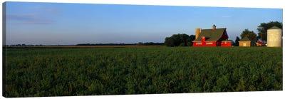 Farm Fields Stelle IL USA Canvas Print #PIM2380