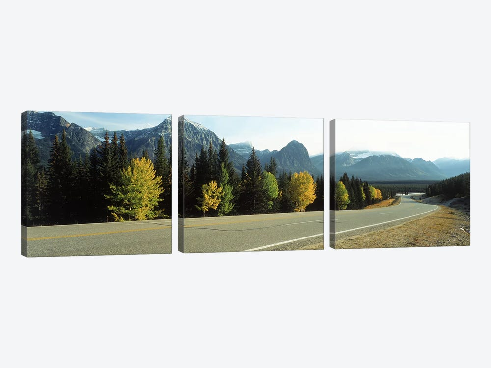 Road Alberta Canada by Panoramic Images 3-piece Canvas Art Print