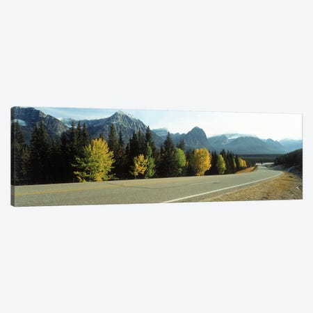 Road Alberta Canada Canvas Print #PIM2383} by Panoramic Images Canvas Wall Art