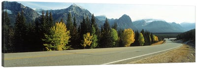 Road Alberta Canada Canvas Art Print