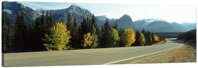 Road Alberta Canada Canvas Art Print