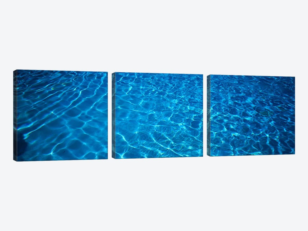 Water Swimming Pool Mexico 3-piece Canvas Art