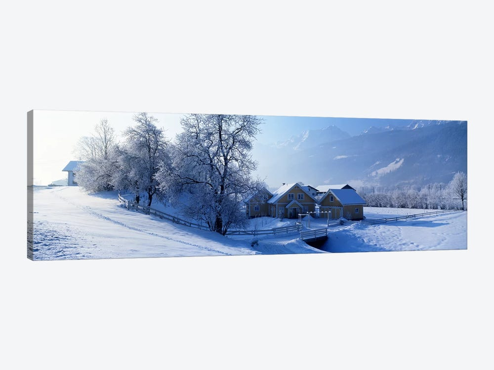 Winter Farm Austria by Panoramic Images 1-piece Canvas Art
