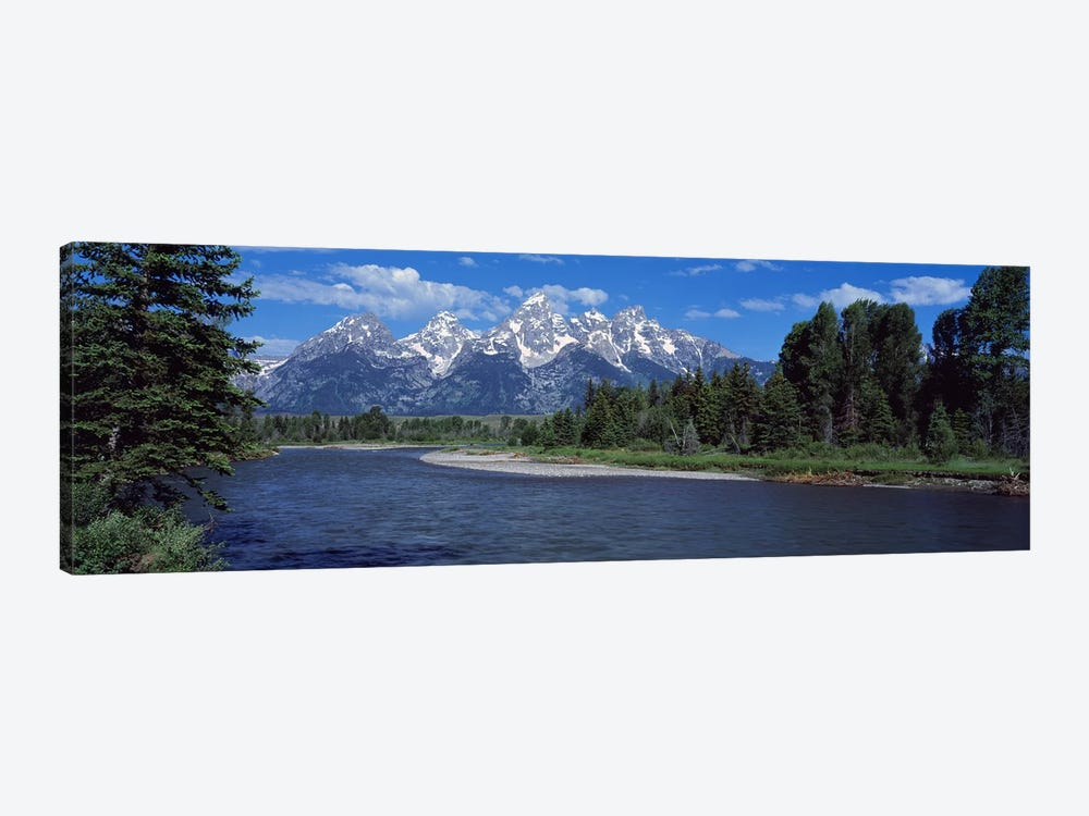 Snake River & Grand Teton WY USA by Panoramic Images 1-piece Art Print