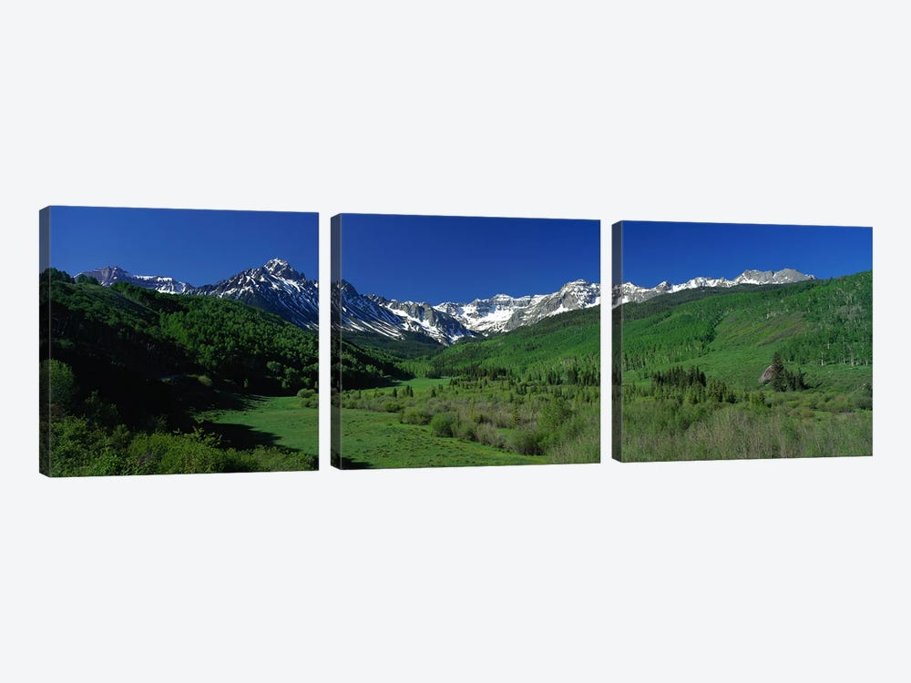San Juan Mountains CO USA by Panoramic Images 3-piece Canvas Artwork