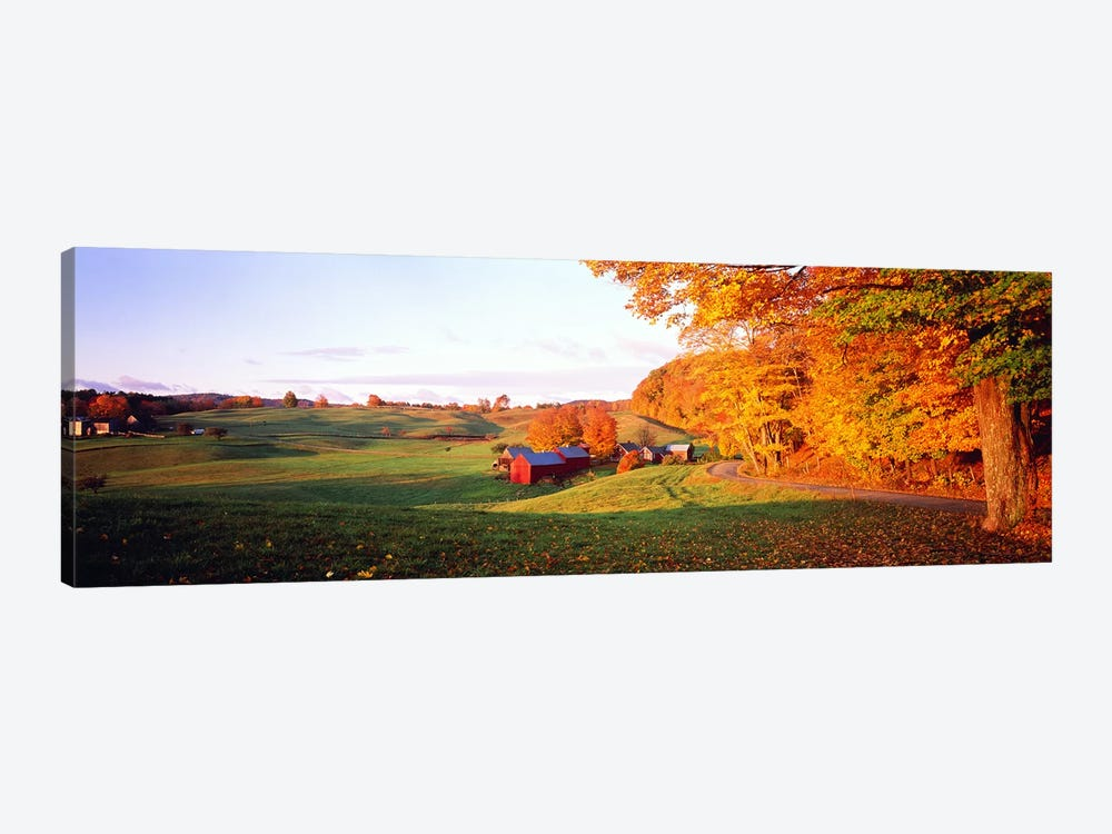 Fall Farm VT USA 1-piece Canvas Wall Art