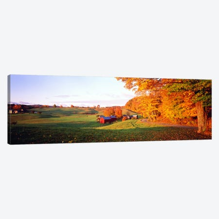 Fall Farm VT USA Canvas Print #PIM2399} by Panoramic Images Art Print