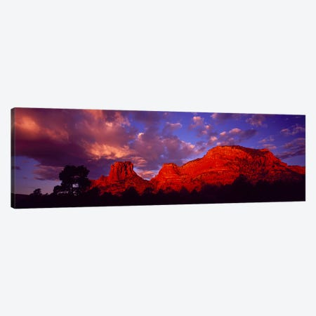 Rocks at Sunset Sedona AZ USA Canvas Print #PIM2402} by Panoramic Images Canvas Print
