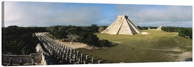 Pyramid Chichen Itza Mexico Canvas Art Print