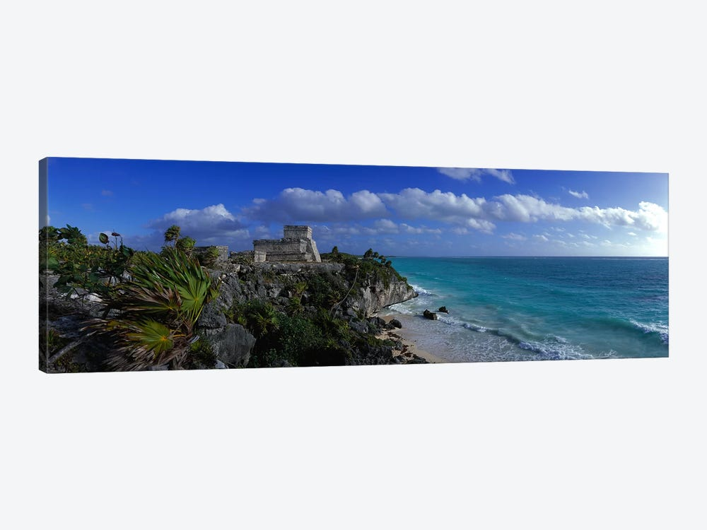 El Castillo Tulum Mexico by Panoramic Images 1-piece Canvas Art Print