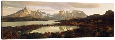 Torres del Paine National Park Chile Canvas Art Print