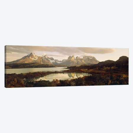 Torres del Paine National Park Chile Canvas Print #PIM2407} by Panoramic Images Canvas Art