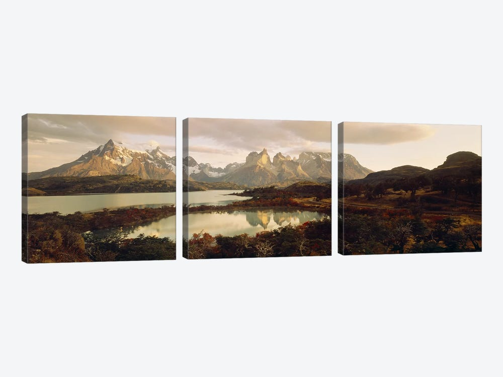 Torres del Paine National Park Chile by Panoramic Images 3-piece Canvas Artwork