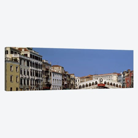 Ponte di Rialto (Rialto Bridge) & Surrounding Architecture, Venice, Veneto, Italy Canvas Print #PIM2411} by Panoramic Images Canvas Artwork