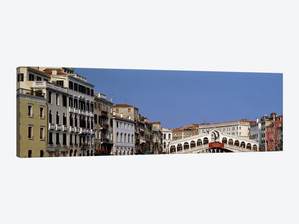 Ponte di Rialto (Rialto Bridge) & Surrounding Architecture, Venice, Veneto, Italy by Panoramic Images 1-piece Art Print