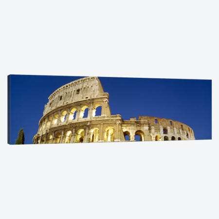Low angle view of ruins of an amphitheaterColiseum, Rome, Lazio, Italy Canvas Print #PIM2413} by Panoramic Images Canvas Artwork
