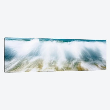 Surf Fountains Big Makena Beach Maui HI USA Canvas Print #PIM241} by Panoramic Images Canvas Wall Art