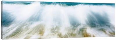 Surf Fountains Big Makena Beach Maui HI USA Canvas Print #PIM241