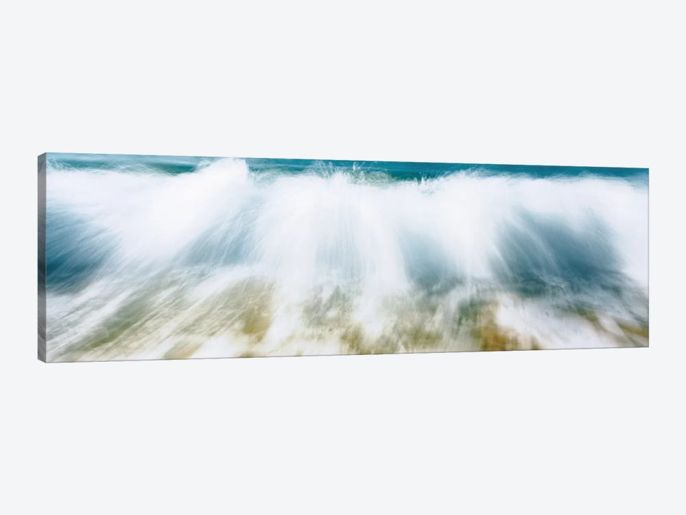 Surf Fountains Big Makena Beach Maui HI USA by Panoramic Images 1-piece Canvas Artwork