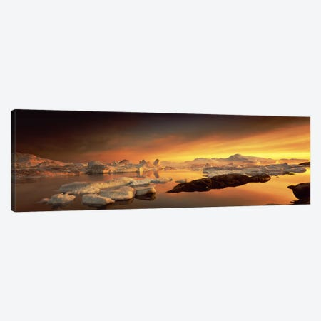 Disko BayGreenland Canvas Print #PIM2423} by Panoramic Images Canvas Print