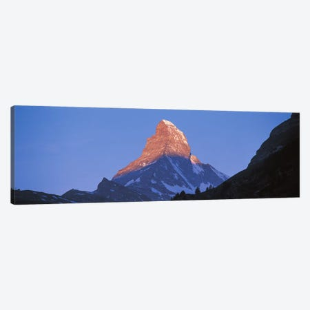 Mt Matterhorn Zermatt Switzerland Canvas Print #PIM2424} by Panoramic Images Canvas Art