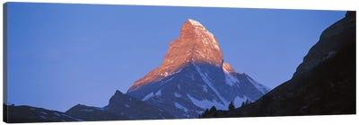 Mt Matterhorn Zermatt Switzerland Canvas Art Print