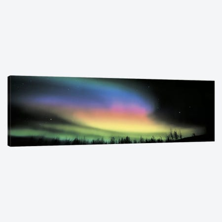 Northern Lights Canvas Print #PIM2425} by Panoramic Images Canvas Wall Art