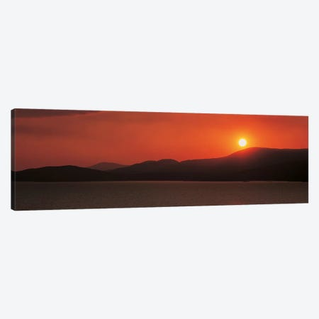 Kenmare River at sunset Ireland Canvas Print #PIM2426} by Panoramic Images Canvas Artwork