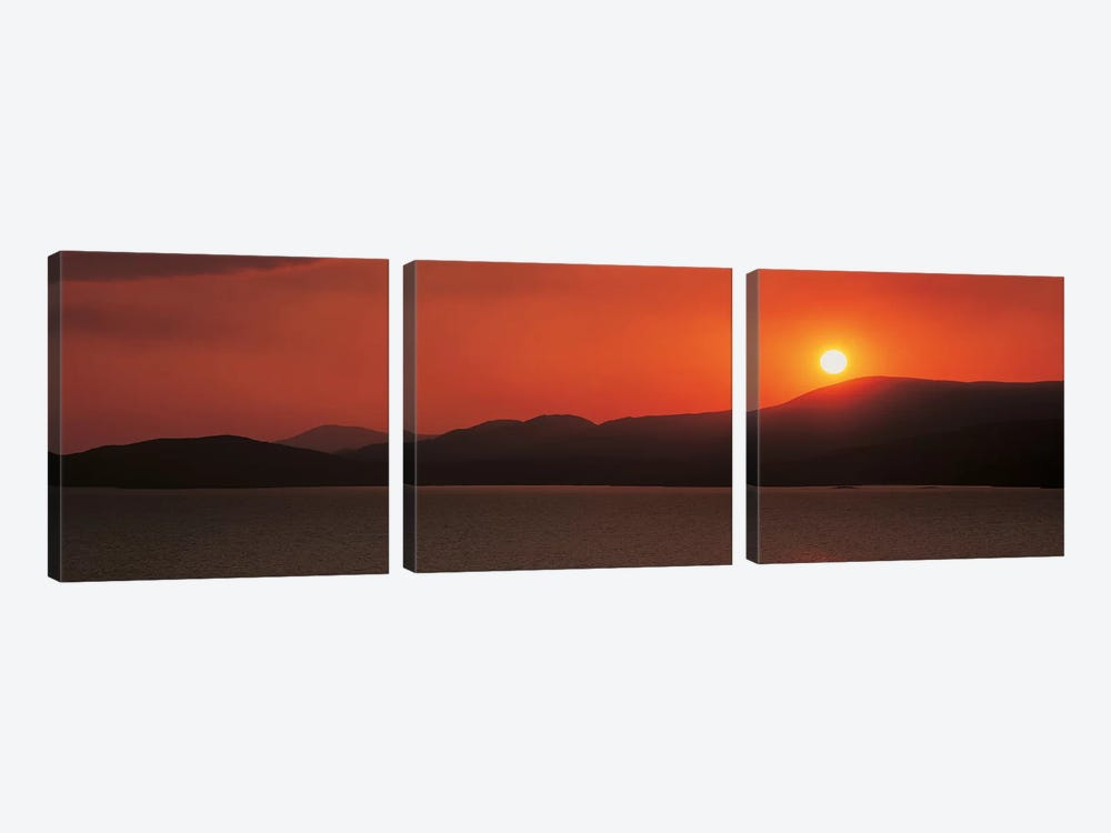 Kenmare River at sunset Ireland by Panoramic Images 3-piece Art Print
