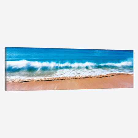 Surf Fountains Big Makena Beach Maui HI USA Canvas Print #PIM242} by Panoramic Images Canvas Artwork