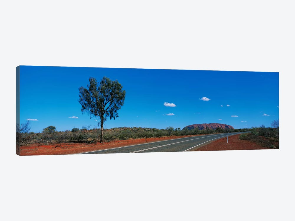 Road Ayers Rock Uluru-Kata Tjuta National Park Australia by Panoramic Images 1-piece Canvas Print